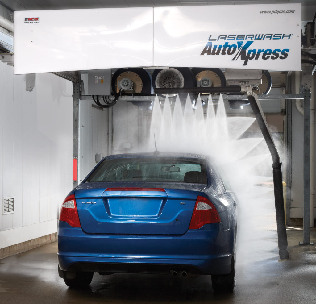 Automatic Laser Car Wash