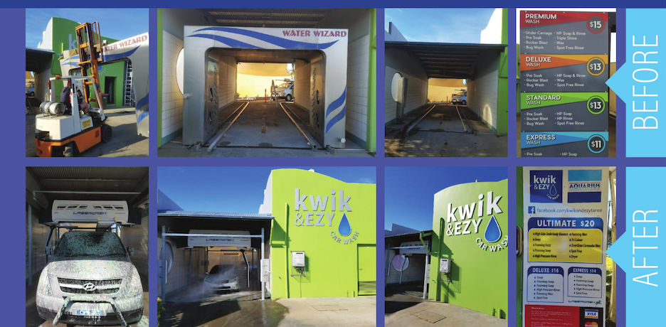 Car Wash World Retrofit Laserwash 360 Plus